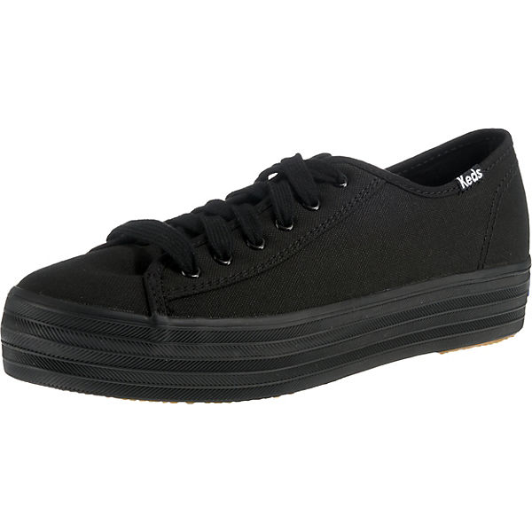 TPL Kick Core Can. Black/Black Sneakers Low
