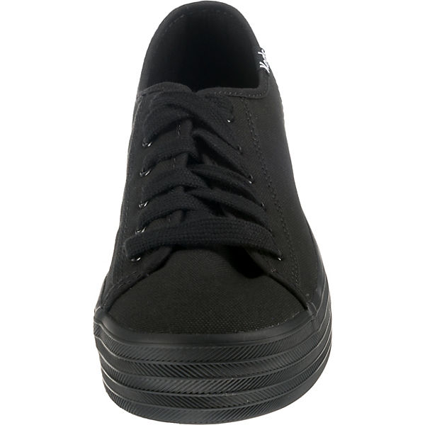 TPL Black Core Keds schwarz Can Kick Sneakers Black Low fqzdp