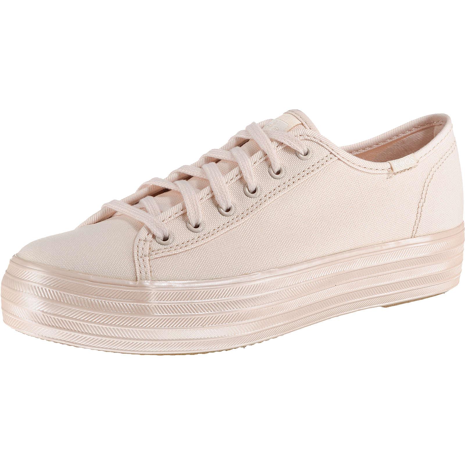 Keds TPL Kick Shimmer Canvas Pink Sneakers Low rosa Damen Gr. 39