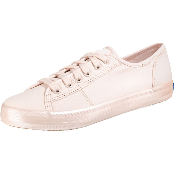 Kickstart Shimmer Canvas Pink Sneakers Low
