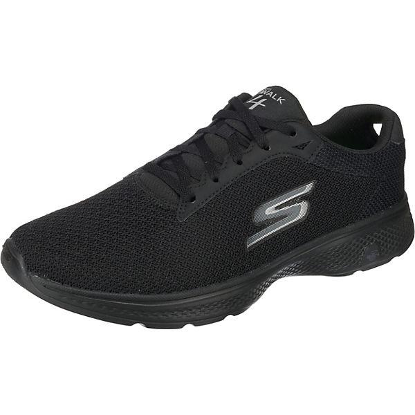 Walk Sneakers SKECHERS schwarz Low Noble Go 4 TqP65v