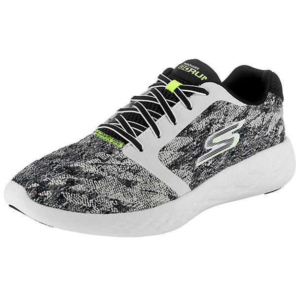 SKECHERS Go Run 600 Nite Owl 2017 Sneakers Low schwarz-kombi