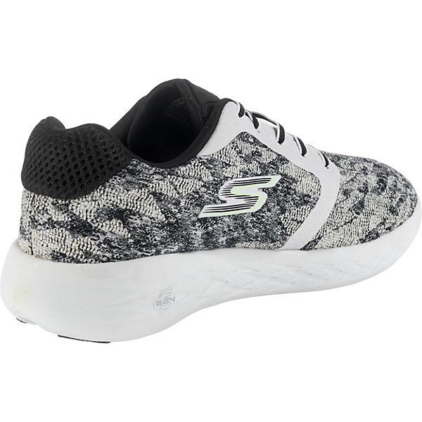SKECHERS, Go Run 600 600 600 Nite Owl 2017 Sneakers Low, schwarz-kombi   97f992