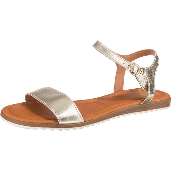 Apple of Eden LARA Riemchensandalen champagner