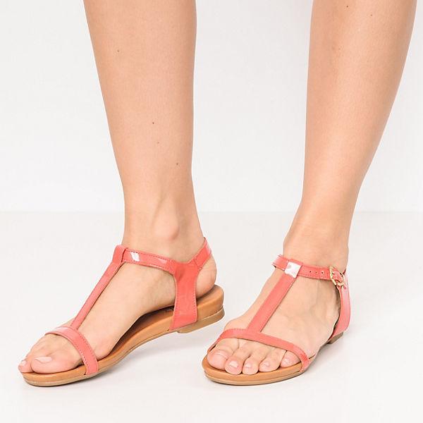 Apple of Eden DORA T-Steg-Sandalen koralle  Gute Qualität beliebte Schuhe