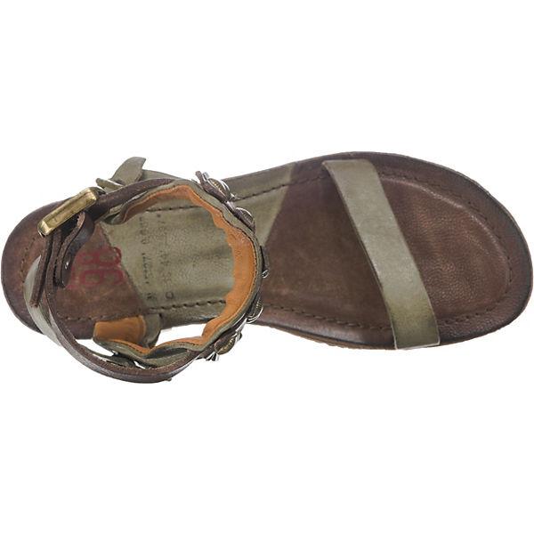 A.S.98 Klassische Sandalen grau