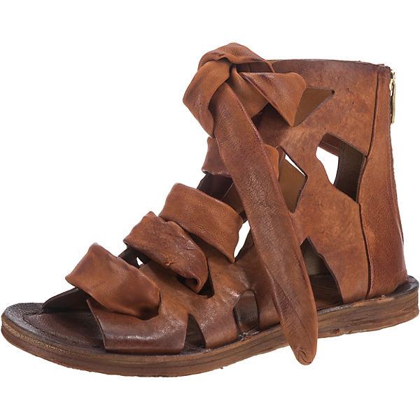 A.S.98 Klassische Sandaletten braun