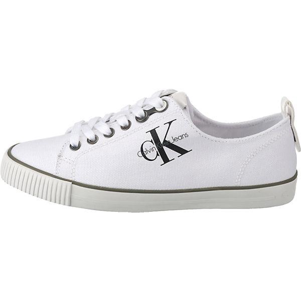 JEANS KLEIN Sneakers DORA CALVIN Low CANVAS creme WqI5Rd