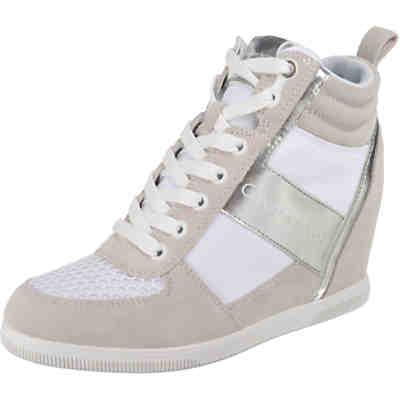 BETH SUEDE/NYLON/METAL SMOOTH Sneakers High