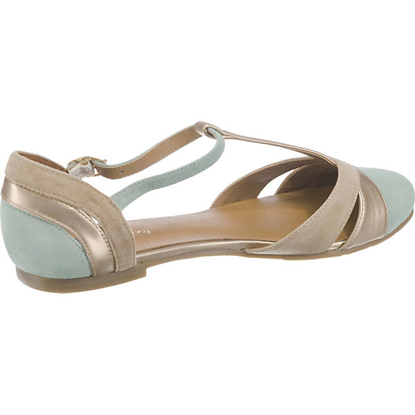mint&berry, Riemchenballerinas, beliebte gold  Gute Qualität beliebte Riemchenballerinas, Schuhe 7ba163