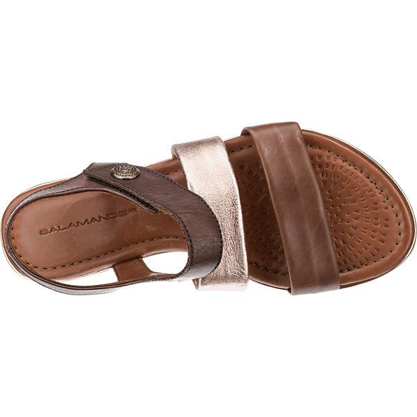 SALAMANDER, REENA Sandaletten, beliebte braun-kombi  Gute Qualität beliebte Sandaletten, Schuhe 103246