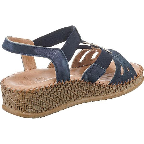 SALAMANDER, FLORA Riemchensandaletten, graublau beliebte  Gute Qualität beliebte graublau Schuhe ed1fc5