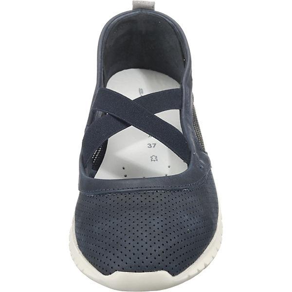 SALAMANDER, BUGADO Sportliche Ballerinas, blau Schuhe  Gute Qualität beliebte Schuhe blau 71d2c2