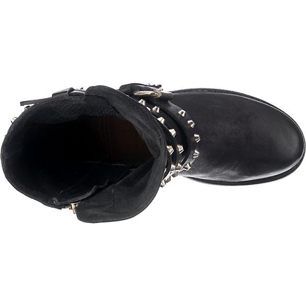 98 schwarz kombi Stiefeletten Klassische S A 4q50a