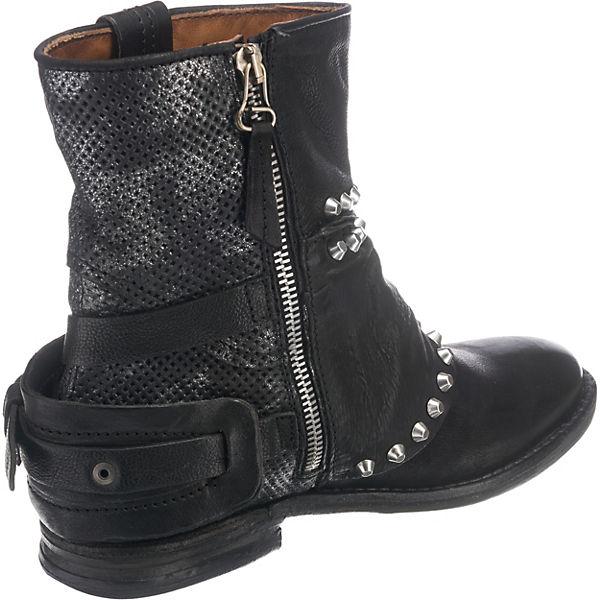 98 S kombi schwarz Klassische Stiefeletten A 5Zn7FwqPxq