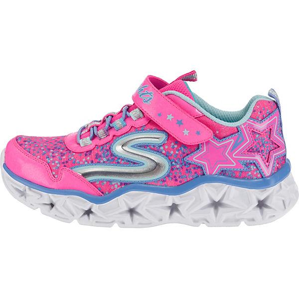 SKECHERS Kinder Sneakers Blinkies für Mädchen pink
