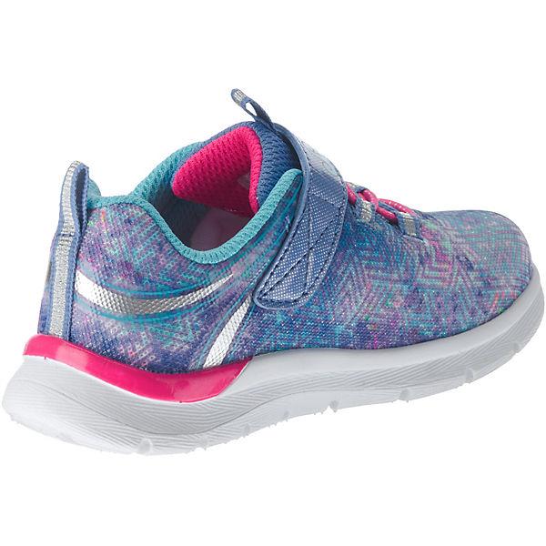 SKECHERS Baby Sneakers für Mädchen blau