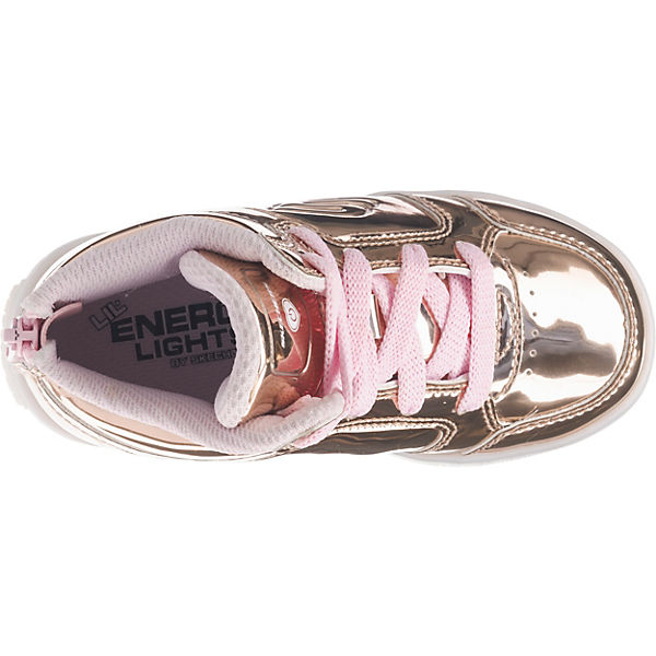 skechers baby sneakers high blinkies mit led sohle f r m dchen gold mirapodo. Black Bedroom Furniture Sets. Home Design Ideas