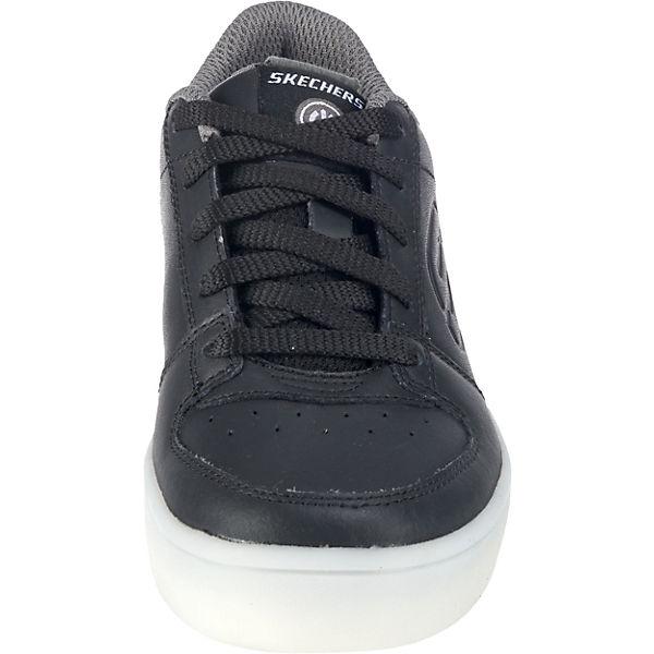 skechers kinder sneakers blinkies mit led sohle schwarz mirapodo. Black Bedroom Furniture Sets. Home Design Ideas