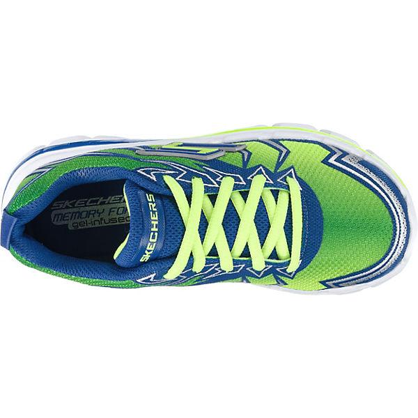 SKECHERS Kinder Sneakers für Jungen grün