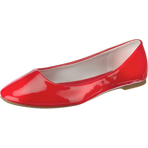 Even & Odd Klassische Ballerinas rot