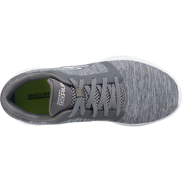 SKECHERS Go Run 600 Divert Sneakers Low grau