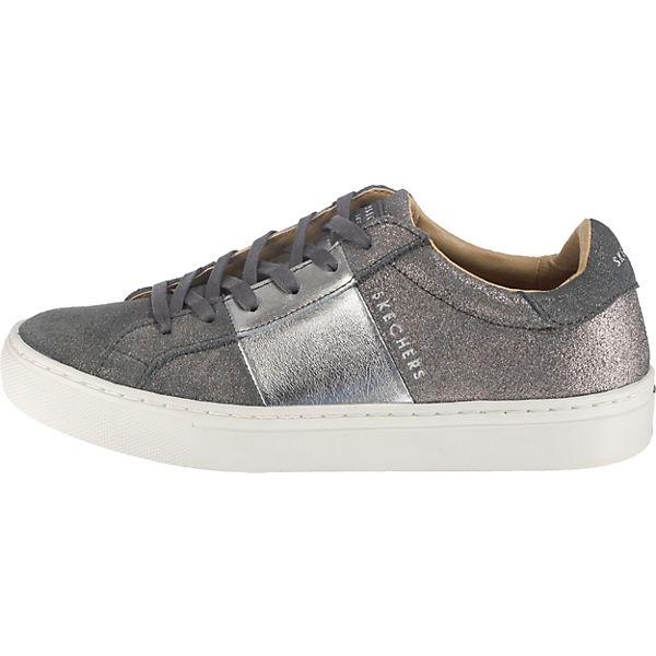 grau Banded Side SKECHERS Street kombi Sneakers Low EXHq6xwq