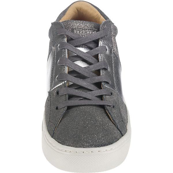 kombi Low grau SKECHERS Side Sneakers Street Banded AwU64qTY