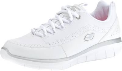 SKECHERS, SYNERGY 2.0 Sneakers Low, weiß