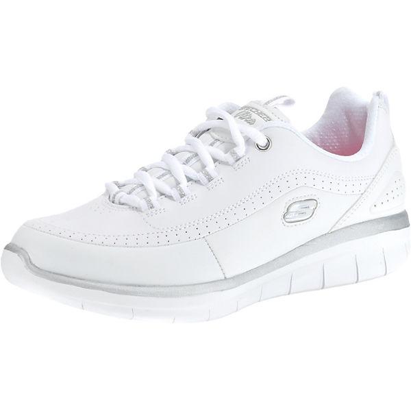 Skate-Schuhe Neuankömmlinge Schuhwerk SKECHERS, SYNERGY 2.0 Sneakers Low, weiß