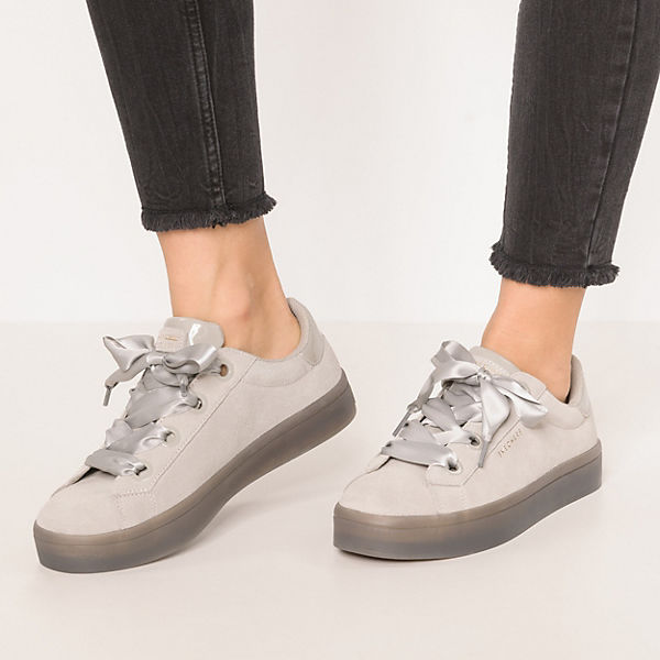 Lites Low Sneakers hellgrau Hi Suede City SKECHERS 0nv745