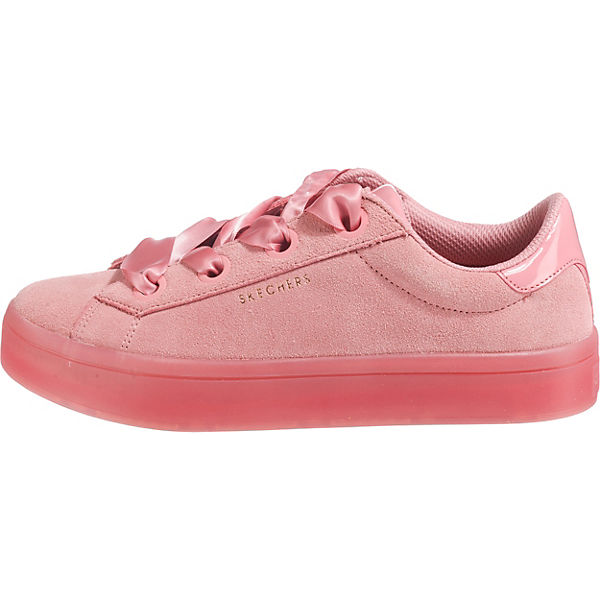 Suede pink Lites Hi Sneakers City SKECHERS Low x7Own6A
