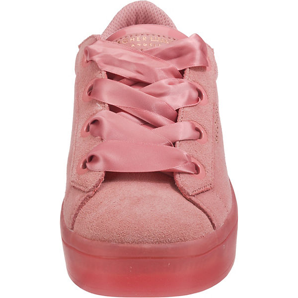 pink Hi Sneakers Lites City Suede Low SKECHERS RwqCYZq