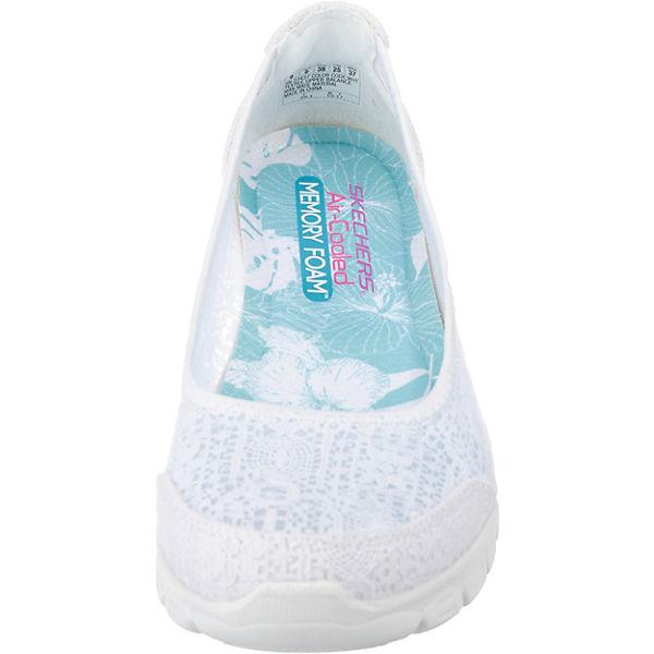 SKECHERS, Ez Flex 3.0 Beautify Sportliche Ballerinas, weiß    Gute Qualität beliebte Schuhe 5f490c