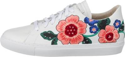 SKECHERS 'Vaso Flor' Sneakers Low weiß