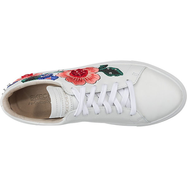 SKECHERS Vaso Flor Sneakers Low weiß-kombi