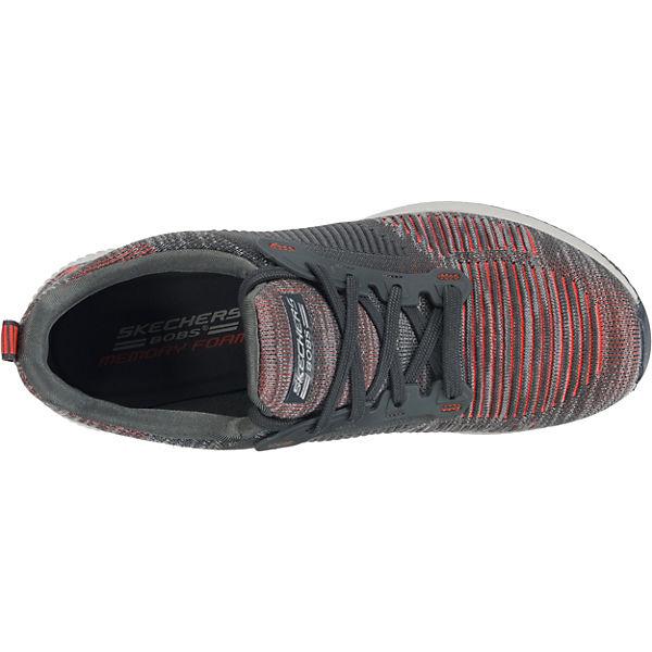 SKECHERS Bobs Squad Sneakers Low grau-kombi