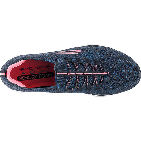 SKECHERS, Empire Sharp Thinking Sneakers Low, blau-kombi blau-kombi blau-kombi  Gute Qualität beliebte Schuhe dccd71