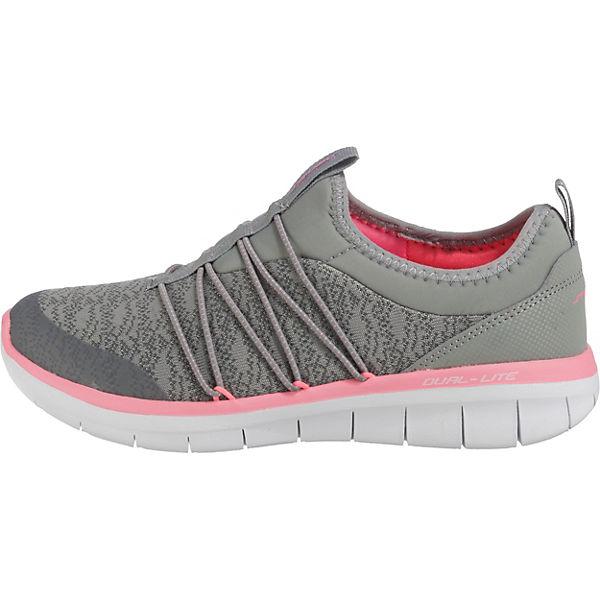 kombi Sneakers 0 Chic Synergy 2 Low grau SKECHERS Simply WwxA8fz
