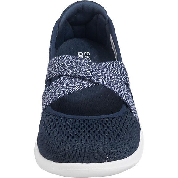 SKECHERS, Go Walk Cutesy Sportliche Ballerinas, blau  Gute Gute Gute Qualität beliebte Schuhe 298cc1