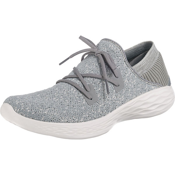 SKECHERS You Exhale Sneakers Low grau