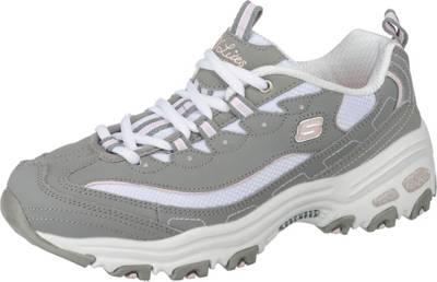 SKECHERS, D'LITES BIGGEST FAN Sneakers Low, grau