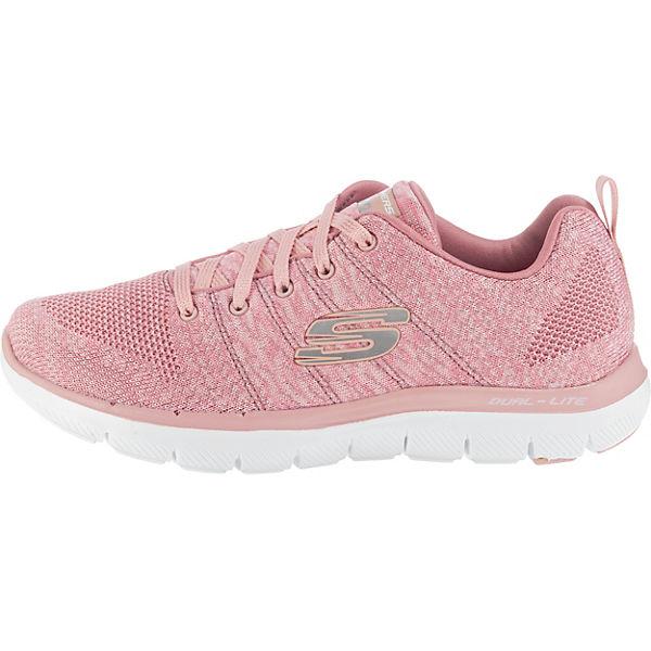SKECHERS Flex Appeal 2.0 High Energy Sneakers Sneakers Sneakers Low rosa  Gute Qualität beliebte Schuhe 9aaf17