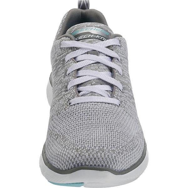 SKECHERS, Flex Appeal 2.0 High Energy Sneakers Sneakers Sneakers Niedrig, hellgrau  Gute Qualität beliebte Schuhe b38c63