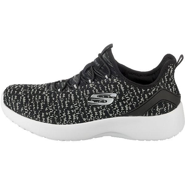 SKECHERS, Dynamight Gute Fleetly Sneakers Low, schwarz-kombi  Gute Dynamight Qualität beliebte Schuhe dc9534