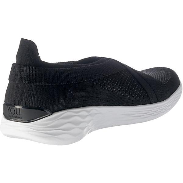 SKECHERS You Luxe Sneakers Low schwarz