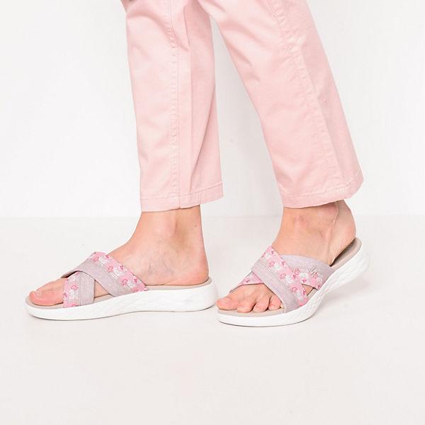 SKECHERS, On-the-go  600 Monarch Pantoletten, rosa  On-the-go Gute Qualität beliebte Schuhe 8c8d35