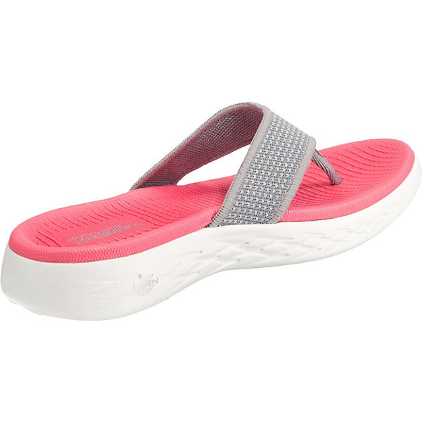 On 600 Zehentrenner pink go the SKECHERS BdvRTqB