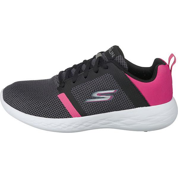 SKECHERS, Go Run 600 600 600 Level Sneakers Niedrig, schwarz  Gute Qualität beliebte Schuhe 994fba