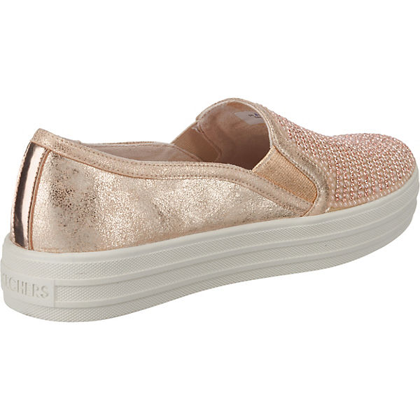 Shiny Low Up Sneakers Skechers Rosa Dancer Double wFHqWvE1